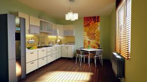 Jak zaprojektować dużą kuchnię?